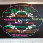 Whole 30 Day 15 Sign